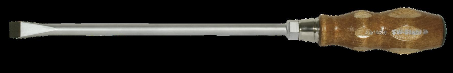 SWSTAHL Schraubendreher Holzheftschraubendreher 125 x 6,5 30902L