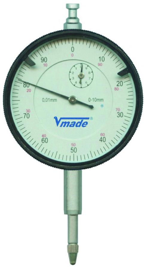 VOGEL Dial gauge, standard 10 x 0.01 mm ø 57 mm housing, in box 24 1101