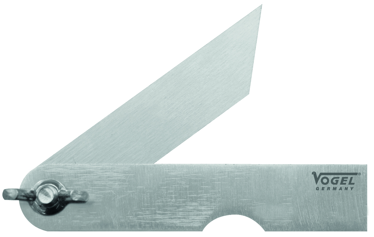 VOGEL Stahlschmiege, 200 mm verzinkt, mit Flügelmutter 31 2573