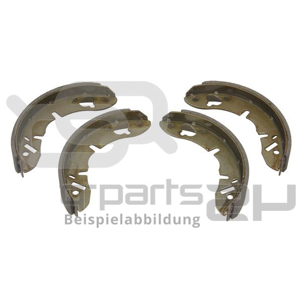 Brake Shoe Set, parking brake ATE 03.0137-3023.2 CHRYSLER CITROËN FIAT PEUGEOT