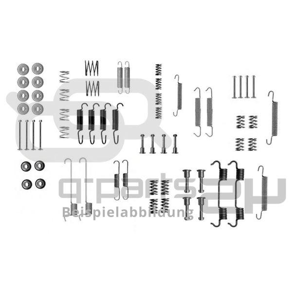 Accessory Kit, brake shoes BOSCH 1 987 475 365 MERCEDES-BENZ SMART