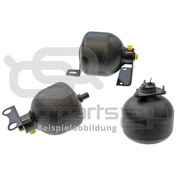 bar Druckspeicher für Federung//Dämpfung Federkugel Q-PARTS24 Hinterachse Druck