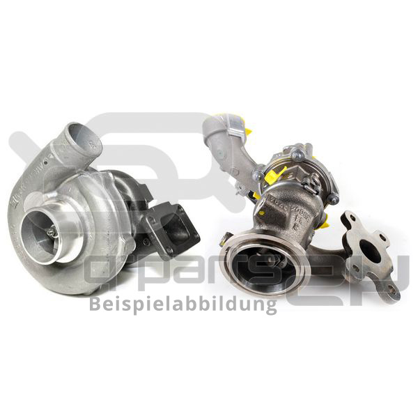 Lader, Aufladung BTS Turbo T981010BL TURBO SERVICE SET REMAN VW