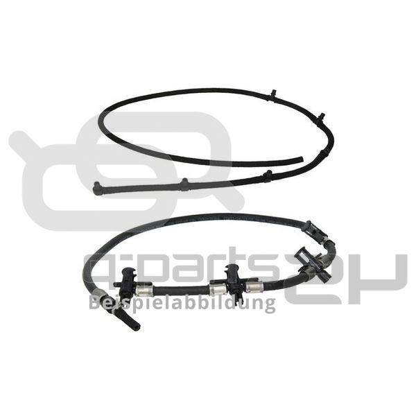 Schlauch, Leckkraftstoff BOSCH 0 928 400 595 FIAT MERCEDES-BENZ OPEL VAUXHALL