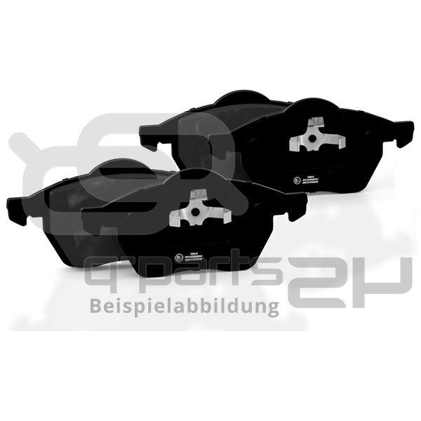 Brake Pad Set, disc brake TRW MCB681 Organic Allround