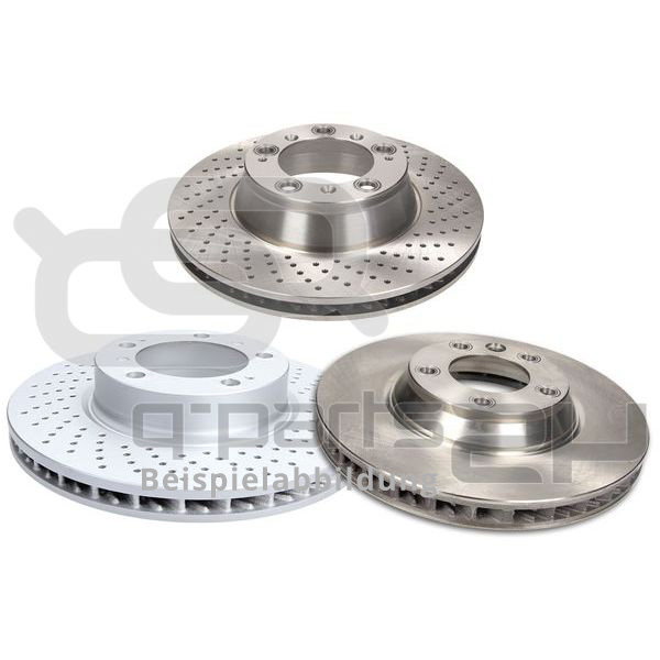 Brake Disc TRW DF6223S DAIMLER JAGUAR